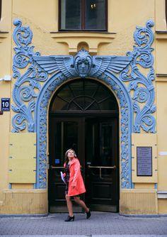 Riga. Meistaru iela.