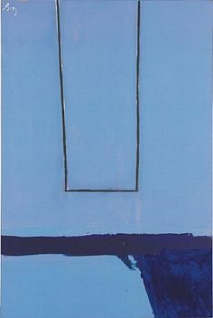 Robert Motherwell: Open #75, 1969
