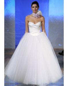 {Birnbaum and Bullock wedding dress} Tulle skirt with pockets