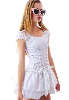 Tripp NYC Brocade Corset Dress | Dolls Kill