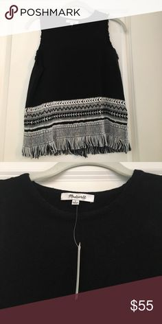 Madewell Tank NWT New with tags! Never worn Madewell Tops Tank Tops