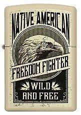 Zippo Limited Edition, Cool Zippos, Cigar Lighters, Pipes And Cigars, Zippo Lighter, Freedom Fighters, Wild And Free, Native American, Cool Stuff