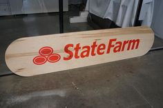 State Farm office decor