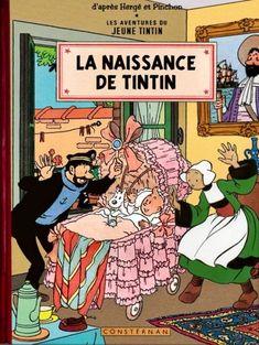 La naissance de Tintin