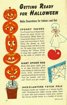 Rankin/Bass-historian: Getting Ready for Halloween! Vintage Halloween Images, Retro Halloween, Halloween Make, Halloween Items, Halloween Sweets, Halloween Prints, Halloween 2020, 90s Halloween Costumes, Scary Halloween Decorations