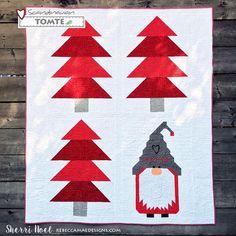 Scandinavian Tomte Christmas Quilt Pattern | Craftsy