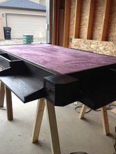 My Custom Game Table - Inspired by geekchic.