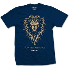 World of Warcraft Men's Tee: The Alliance Wholesale Ref:WOWTS01MN