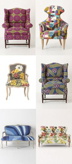 Love these cool, Crazy Chairs~