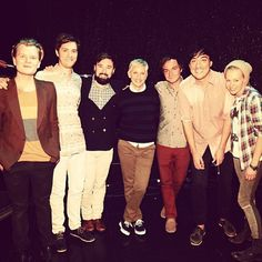 Grizzly Bear hanging out with Ellen DeGeneres and Portia di Rossi. Ellen Degeneres And Portia, Indie Scene, Hanging Out, Nyc, Bear, Fictional Characters, Watch, Music, Musica