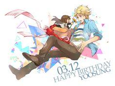 AAAAHHH I MAKE IN TIME!!!  HAPPY BIRTHDAY YOOSUNG MY SUNSHINE BAE!!!!