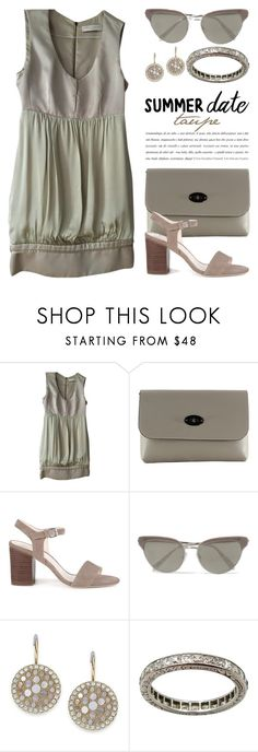 """The Color Taupe or Tan 4048"" by boxthoughts ❤ liked on Polyvore featuring STELLA McCARTNEY, Viola Castellani, Sole Society, Oliver Peoples and FOSSIL"