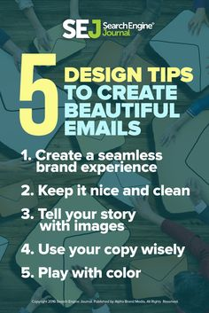 Learn how to write great email designs to drive your audience to act.