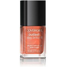 COVERGIRL Outlast Stay Brilliant Nail Gloss Totally Tulip 35, .37 oz -- Details can be found by clicking on the image. (This is an affiliate link) #FootHandNailCare