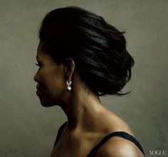 Michelle Obama photographed by Annie Leibovitz