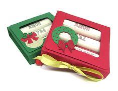 Caixa de Batom de Natal - Scrap