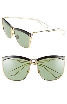 Dior 58mm Retro Metal Sunglasses available at #Nordstrom