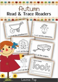 Autumn / Fall Sight Words Readers. The text follows a predictable pattern and is supported by images, making them an ideal tool to use with emergent readers to build confidence and develop fluency!