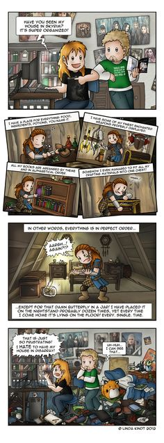 Organized by *Isriana on deviantART - THAT DARN BUTTERFLY-IN-A-JAR!!! I have the same problem.