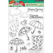 Penny Black Clear Stamps Sheet April Showers, , hi-res