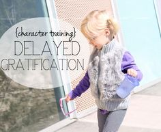 It's so important we teach them delayed gratification. We don't always need it NOW. It isn't always URGENT. These basic tips can help our children learn to handle their frustrations and be better prepared for the adult world! #parenting #children