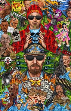 fine Breaking Bad art