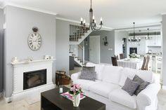 Modny salon. Zobacz wnętrza w szarym kolorze  - zdjęcie numer 2