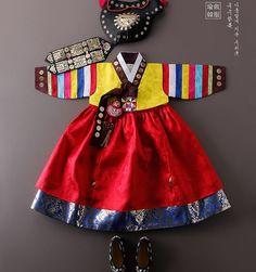 Korean Traditional Dress, Traditional Fashion, Traditional Dresses, Fashion Art, Kids Fashion, Dress Anak, South Korea Travel, Korean Hanbok, My Princess
