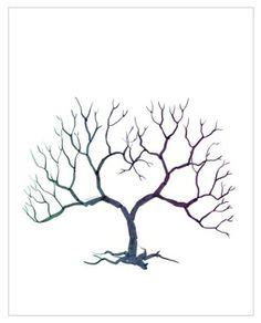 Fingerprint Tree DIY by webloggins