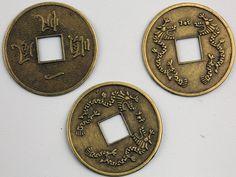 Las monedas chinas son excelente para activar la riqueza en el sector Oeste