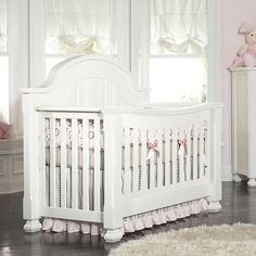 Sugar Crib by Baby's Dream, converts to a full or queen bed.  Coordinates with the Everything Nice Collection