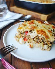 Gratin au chou-fleur et au quinoa – Cuisine ta ligne