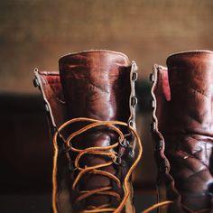 topshelflifestyle:  My old Danner boots