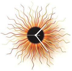 Medusa Wall Clock - Copper