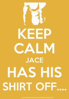 The Mortal Instruments: Keep Calm #Jace