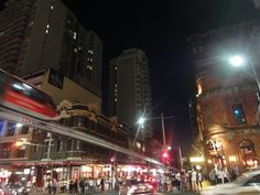 Sydney - Corner of Liverpool street and George Street