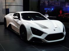 Zenvo ST-1  Turbocharged and Supercharged 7.0L V8  1,250 hp (932 kW),  top speed 375 km/h  0–100 km/h time of 3.0 seconds