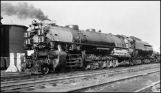 UP 9024, 4-12-2, Union Pacific style locomotive at Council Bluffs, IA, July 4, 1948