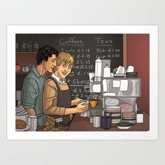 Coffee Shop AU