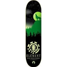 Element Full Moon Thriftwood Skateboard Deck Skateboard Design, Skateboard Decks, Skate And Destroy, Skate Art, Skate Decks, Skater Girls, Deck Design, Skateboards, Full Moon