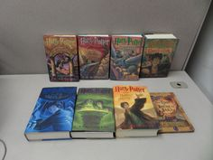 Harry Potter Complete Hardback Set Volumes 1-7  with dust jackets + Beedle Bard