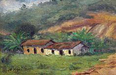 Alfredo Volpi. Casinha de Mogi (das Cruzes)