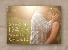 Printable Save the Date  DIY Wedding by sweetpressStudio on Etsy, $20.00