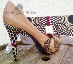 Patent Delight Stiletto Court Shoe by SouthOfAfrica on Etsy, $78.20