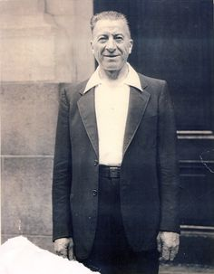 My Great Grandfather standing near his apartment, two blocks from my office in SoHo.
