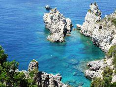 Corfu,Paleokastritsa