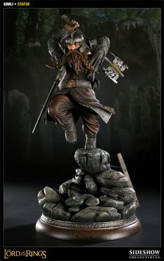 Gimli  Polystone Statue  Item Number: 200130  Manufactured by: Sideshow Collectibles  Price: US $249.99