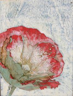 Hiroshi Kobayashi - 芥子板に岩絵の具
