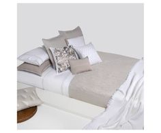 Hoeslaken Moare, wit Linen Bedding, Furniture, Home Decor, Bedroom, Home Furnishings, Interior Design, Home Interiors, Decoration Home, Linen Bedroom