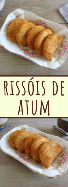 This is one of those recipes for special days! Prepare these delicious tuna rissoles if you are planning to make a dinner for a special occasion. Tuna Recipes, Real Food Recipes, Yummy Appetizers, Appetizer Recipes, Rissoles Recipe, Eggs Low Carb, Healthy Recepies, Eating For Weightloss, Portugal